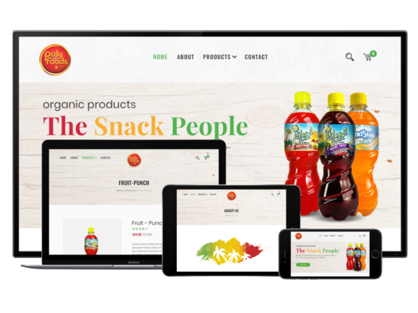 Ecommerce Site - PolyFood